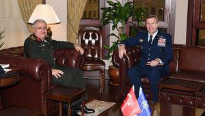 Genelkurmay Başkanı Güler, SACEUR Wolters ile görüştü