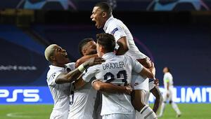 Son Dakika | Paris Saint-Germain 3 dakikada geri döndü, Şampiyonlar Liginde yarı finale yükseldi