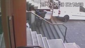 Güngörende 100 bin liralık hırsızlık kamerada