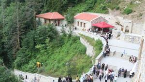 Sümela Manastırını 45 bini aşkın kişi ziyaret etti
