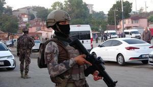 Çorluda 220 polisle hava destekli asayiş operasyonu: 14 gözaltı