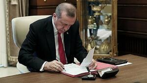 Son Dakika: Son dakika haberi: Cumhurbaşkanı Erdoğan imzaladı 16 üniversiteye rektör ataması yapıldı