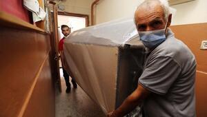 Sel mağduru 51 aileye yardım eli