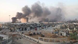 Beyrut Limanındaki patlamada ölenlerin sayısı 177ye çıktı