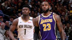 NBA Haberleri | Zion Williamson, LeBron Jamesi geride bıraktı Çaylak sezonunda...