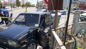 Döşemealtında trafik kazası: 1 ölü