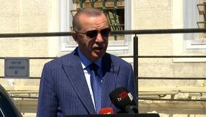 Cumhurbaşkanı Erdoğan, Doğu Akdenizdeki gelişmelerle ilgili konuştu
