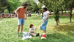 Yeşil alanlara koştuk, parklara açıldık