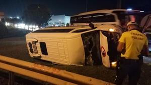 Kocaelide minibüs kazası: 6 yaralı