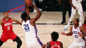 NBAde gecenin sonuçları | Furkanlı 76ers, Houstonı 38 sayı farkla geçti