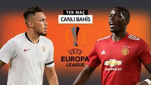 Avrupa Liginde ilk finalist belli oluyor Sevillaya Manchester United karşısında verilen iddaa oranı...