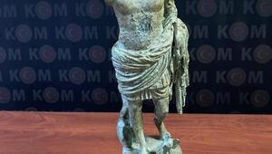 Hatayda, tarihi eserniteliğinde heykelcik ele geçirildi