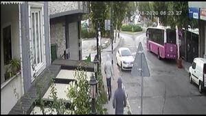 İki ayrı evden hırsızlık yapan şüphelilerin kaçış anları kamerada