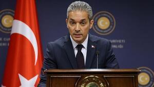 Dışişleri Sözcüsü Aksoy: GKRY, böyle bir anlaşma yapmaya ehil ve yetkili değildir