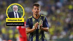 Fenerbahçede Emre Belözoğlu bıraktı, sonrasını açıklamadı