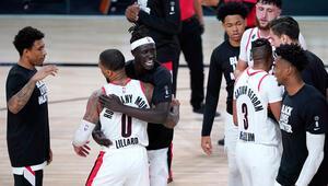 NBAde play-off bileti alan son takım Portland oldu