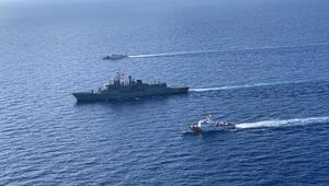 Son dakika... MSB son durumu paylaştı Akdeniz Kalkanı Harekatına katılan gemiler refakat ediyor