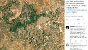 NASAnın Antalya dağları paylaşımı şaşırttı