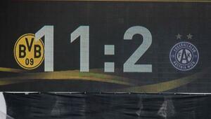 Dortmund hazırlık maçınca acımadı: 11-2