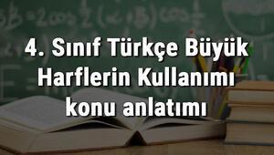 4. Sınıf Türkçe Büyük Harflerin Kullanımı konu anlatımı