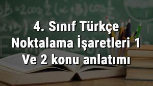 4. Sınıf Türkçe Noktalama İşaretleri 1 Ve 2 konu anlatımı