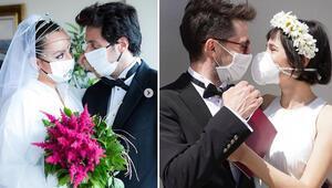 Virüs aşka engel olamadı… İşte pandemi döneminde evlenen ünlüler