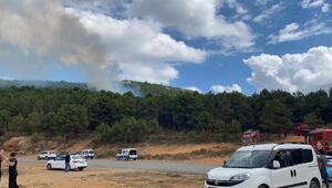 Son dakika... Aydos Ormanında yangın
