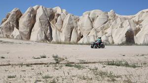 Kapadokya pandemi sürecinde günübirlikçi yerli ziyaretçileri ağırlıyor
