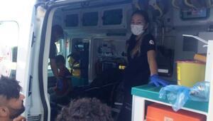 Motosikletin çarpıp kaçtığı çocuk yaralandı