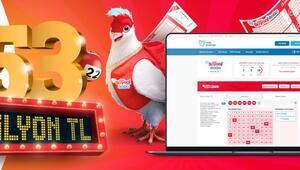 Çılgın Sayısal Loto sonuç sorgulama ekranı Millipiyangoonline.comda 17 Ağustos Çılgın Sayısal Loto sonuçları belli oldu