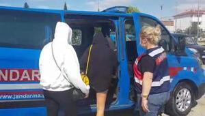Tekirdağ'da kaçak çalıştırılan yabancı uyruklu 7 kadına sınır dışı