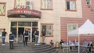 HDP önündeki eylemde 350nci gün