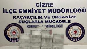 Şırnakta kaçakçılık operasyonları: 42 gözaltı