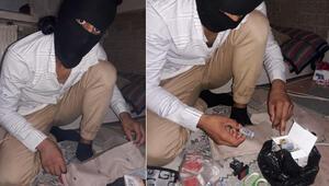 Bursada yakalanmıştı Bomba yaparken fotoğrafı ortaya çıktı