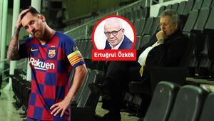 Ertuğrul Özkök: Bu kareyi bir de Sivasta görmüştüm Lionel Messi ve Aziz Yıldırım...