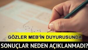 AÖL sınav sonuçları saat kaçta açıklanacak Açık Lise sınav sonuçları için MEB son dakika açıklaması bekleniyor