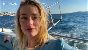 Amber Heard, Boğazda tekne gezintisinde