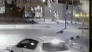 Zeytinburnunda silahlı saldırı; 1 ölü. O anlar kamerada