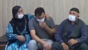 İkna yoluyla teslim olan PKKlı, ailesiyle buluştu