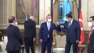 Çavuşoğlu, Venezuela Devlet Başkanı Nicolas Maduro ile görüştü