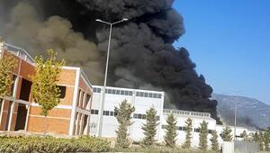 Son dakika haberi: Antalya OSBde fabrika yangını...
