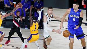 NBAde Gecenin Sonuçları | Konferans liderleri Lakers ve Bucksa play-off dersi