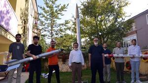 Teknofest'te 3 bin ve 6 bin metre roket yarışmasında finaldeler