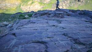 Cilo Dağlarındaki kaya resimleri tarihe ışık tutuyor