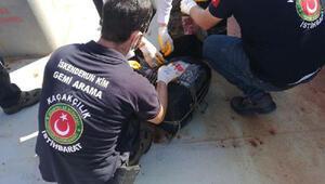 İskenderun Limanında Kolombiyadan gelen gemide 72 kilo kokain ele geçirildi