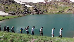 Cilo- Sat Dağlarındaki göllere yoğun ilgi