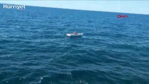 Marmarada mahsur kalan kişinin tekneyi çaldığı ortaya çıktı