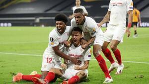 Sevilla, Avrupa Ligi finaline kadar sadece 1 kez yenildi