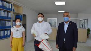 Hilvan Kaymakamlığından 600 aileye maske yardımı