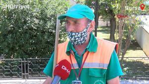35 bin lira kredi borcu olan temizlik işçisi, bulduğu 110 bin lirayı polise teslim etti
